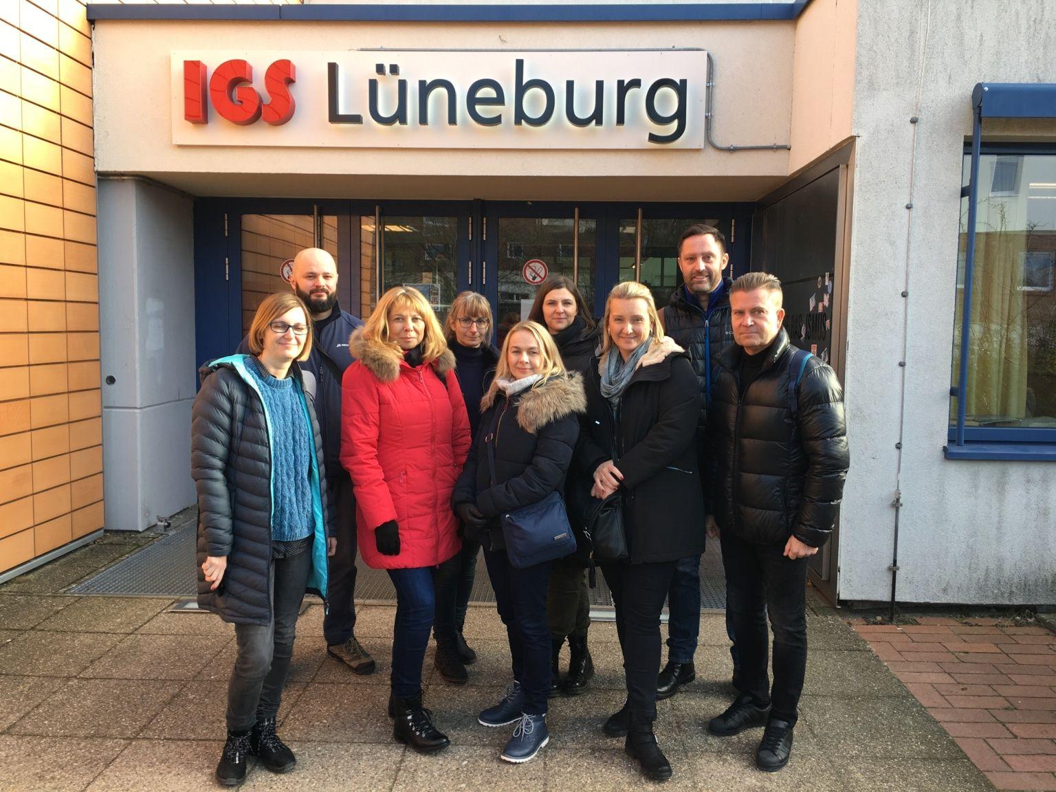 SZKOLENIE JOB SHADOWING W SZKOLE DIE DIALOGE SBL GMBH W LÜNEBURGU